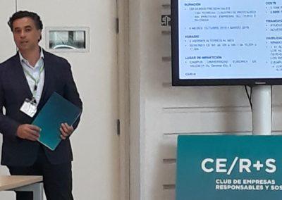 Fernando Ibáñez. Presidente CERS