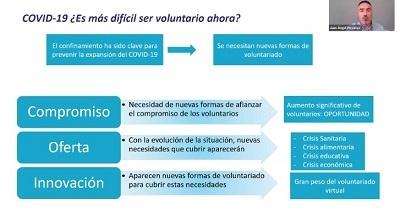 El voluntariado corporativo se dispara con el Covid y el 81% de empresas adapta sus programas al formato no presencial